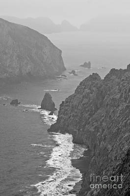 Photograph - Anacapa Mist by Jeff Loh
