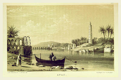 Anah, Narrative Of The Euphrates Expedition Art Print by Litz Collection