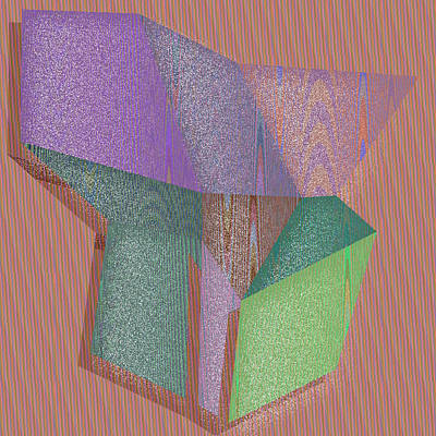 Nine Digital Art - Anaheim by Gareth Lewis