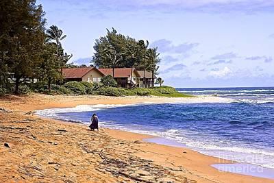 Anahola Beach Kauai Original