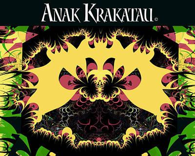 Anak Krakatau - Child Of Krakatoa Art Print by Jim Pavelle