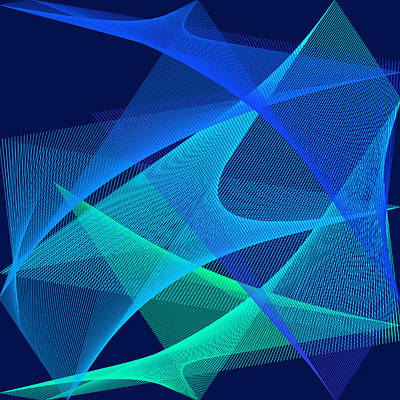 Art Print featuring the digital art Analgesic by Karo Evans