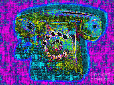 Analog A-phone - 2013-0121 - V3 Art Print by Wingsdomain Art and Photography