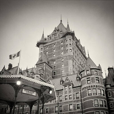 Analog Photograph - Analog Photography - Chateau Frontenac Quebec by Alexander Voss