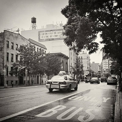 East Village Photograph - Analog Photography - New York East Village No.1 by Alexander Voss
