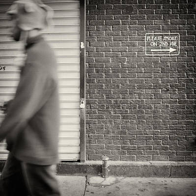 East Village Photograph - Analog Photography - New York East Village No.5 by Alexander Voss