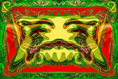 Analog Television Art Print