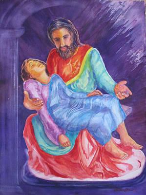 Analogy With La Pieta Original by Estela Robles