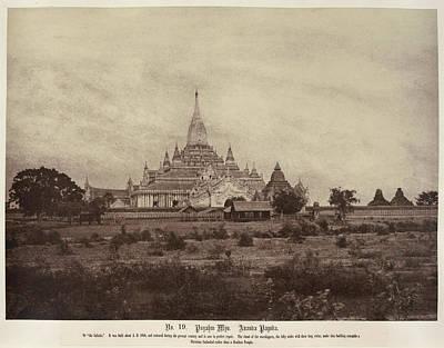 Ananda Pagoda Art Print