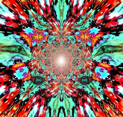 Concentration Digital Art - Anandashraat by Aeres Vistaas