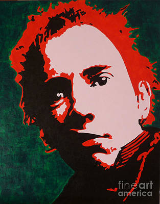 Johnny Rotten Painting - Anarchy In The Uk by ID Goodall