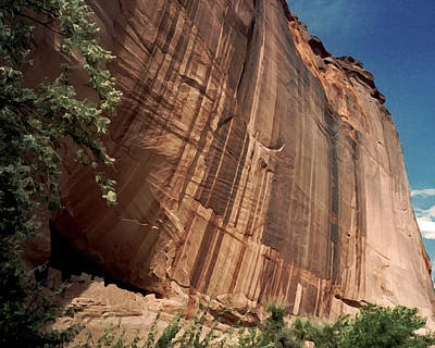 Photograph - White House Ruin In Canyon De Chelly by Connie Fox