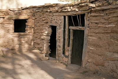 Precolumbian Photograph - Anasazi House by Jim West