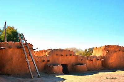 Anasazi Painting - Anasazi Pueblos 2 by Barbara Snyder