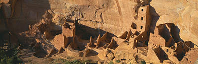 Mesa Verde Photograph - Anasazi Ruins, Mesa Verde National by Panoramic Images