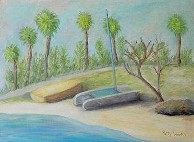 Painting - Anastasia Island by Patty Weeks