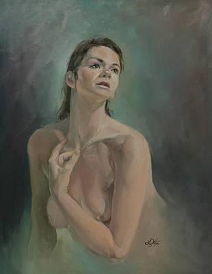 Painting - Anastasia by Liz Viztes