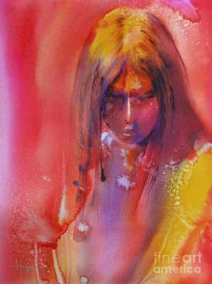 Painting - Anastasia by Robert Hooper