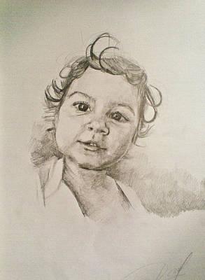 Drawing - Anastasia2 by Vaidos Mihai