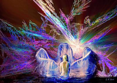 Bathing Digital Art - Ancestral Wisdom by Michael Durst