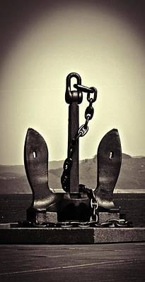 Ships Photograph - Anchor  by Aaron Berg