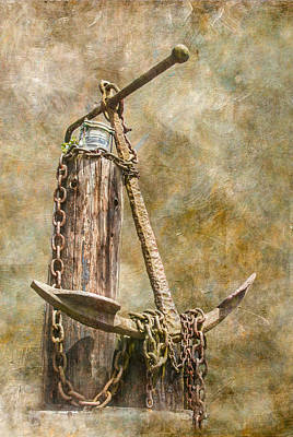 Photograph - Anchor by Angie Vogel
