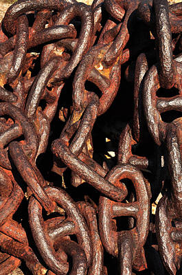 Anchor Chains Art Print