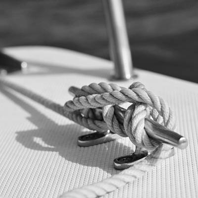 Photograph - Anchor Line by Laura Fasulo