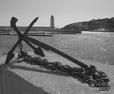 Photograph - Anchor by Louise Fahy