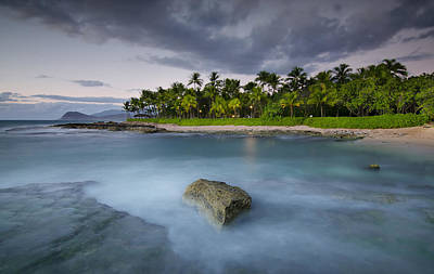 Photograph - Anchor Of The Sea At Koolina by Tin Lung Chao