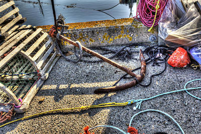Photograph - Anchor by Shawn Everhart