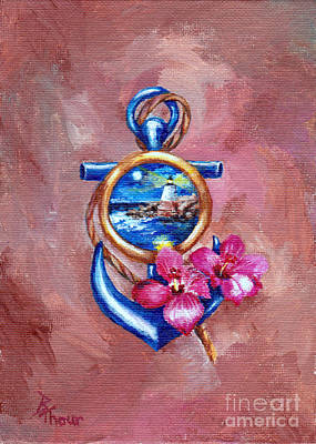 Painting - Anchor Tatoo by Brenda Thour