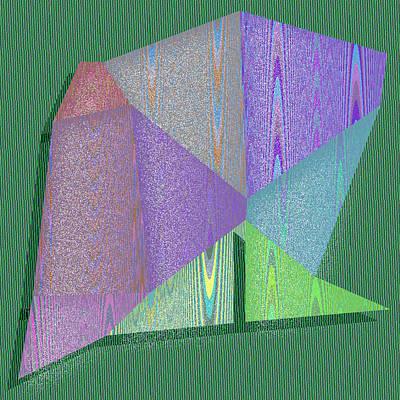 Background Digital Art - Anchorage by Gareth Lewis