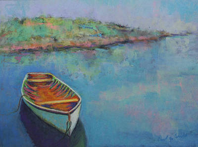 Painting - Anchored by Carol Jo Smidt