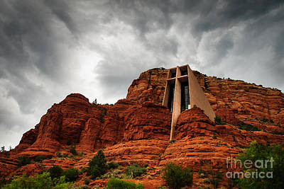 Photograph - Anchored On The Rock Sedona Az by Terry Garvin