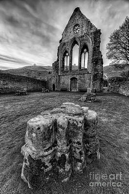 Ancient Abbey Art Print by Adrian Evans