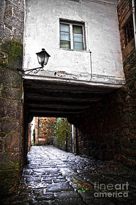 Photograph - Ancient Alley In Tui by RicardMN Photography