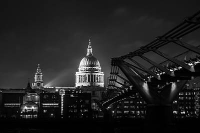 Photograph - Ancient And Modern London by Mathew Lodge