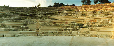 Ancient Civilization Photograph - Ancient Antique Theater In Kas by Panoramic Images