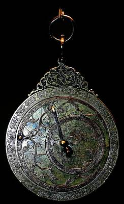 Ancient Astrolabe Art Print by Babak Tafreshi