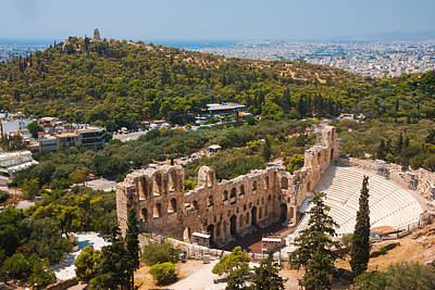 Photograph - Ancient Athens by Gurgen Bakhshetsyan