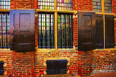 Photograph - Ancient Bricks by Rick Bragan