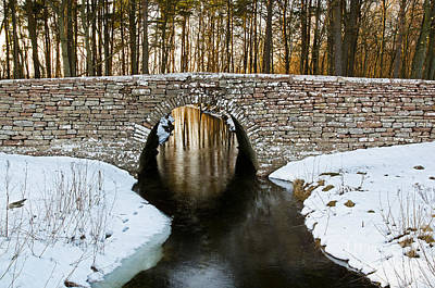 Photograph - Ancient Bridge by Kennerth and Birgitta Kullman