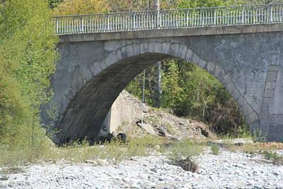 Photograph - Ancient Bridge La Javie by Phoenix De Vries