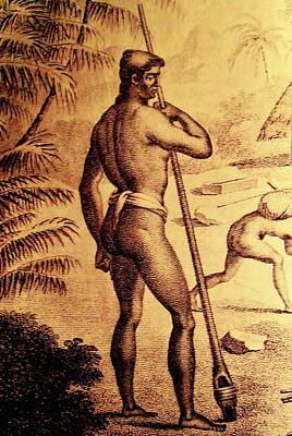 Mixed Media - Ancient Chamorro Society 3 by Michelle Dallocchio