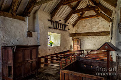 Celynnin Photograph - Ancient Chapel by Adrian Evans