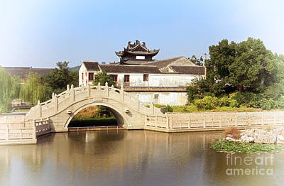 Photograph - Ancient Chinese Architecture by Charline Xia