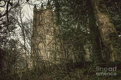 Photograph - Ancient Church At Glen'orchey  by Joan-Violet Stretch