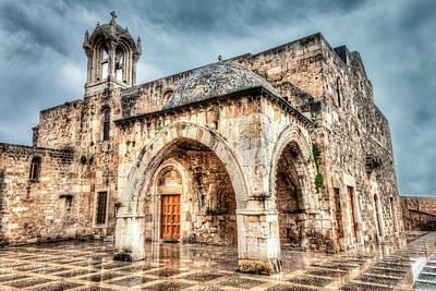 Photograph - Ancient Church Byblos Lebanon by Joshua McDonough