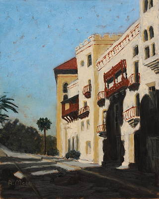 Painting - Ancient City Courthouse by Alan Mager